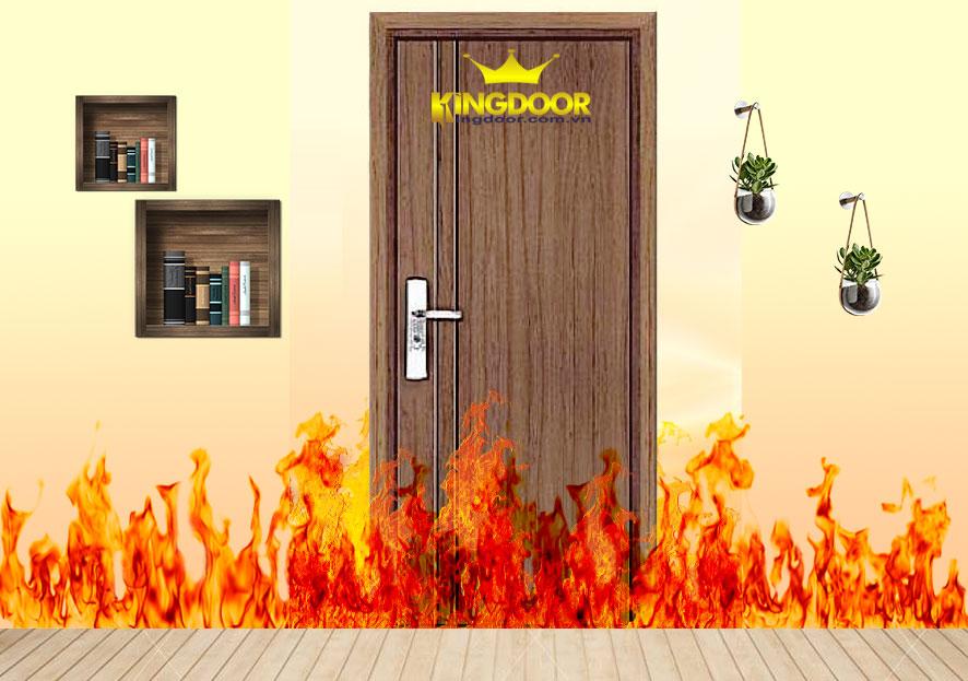 Cửa gỗ chông cháy 60 phút