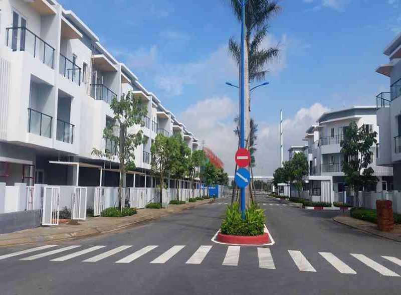 Cửa gỗ Melosa Khang Điền Quận 9
