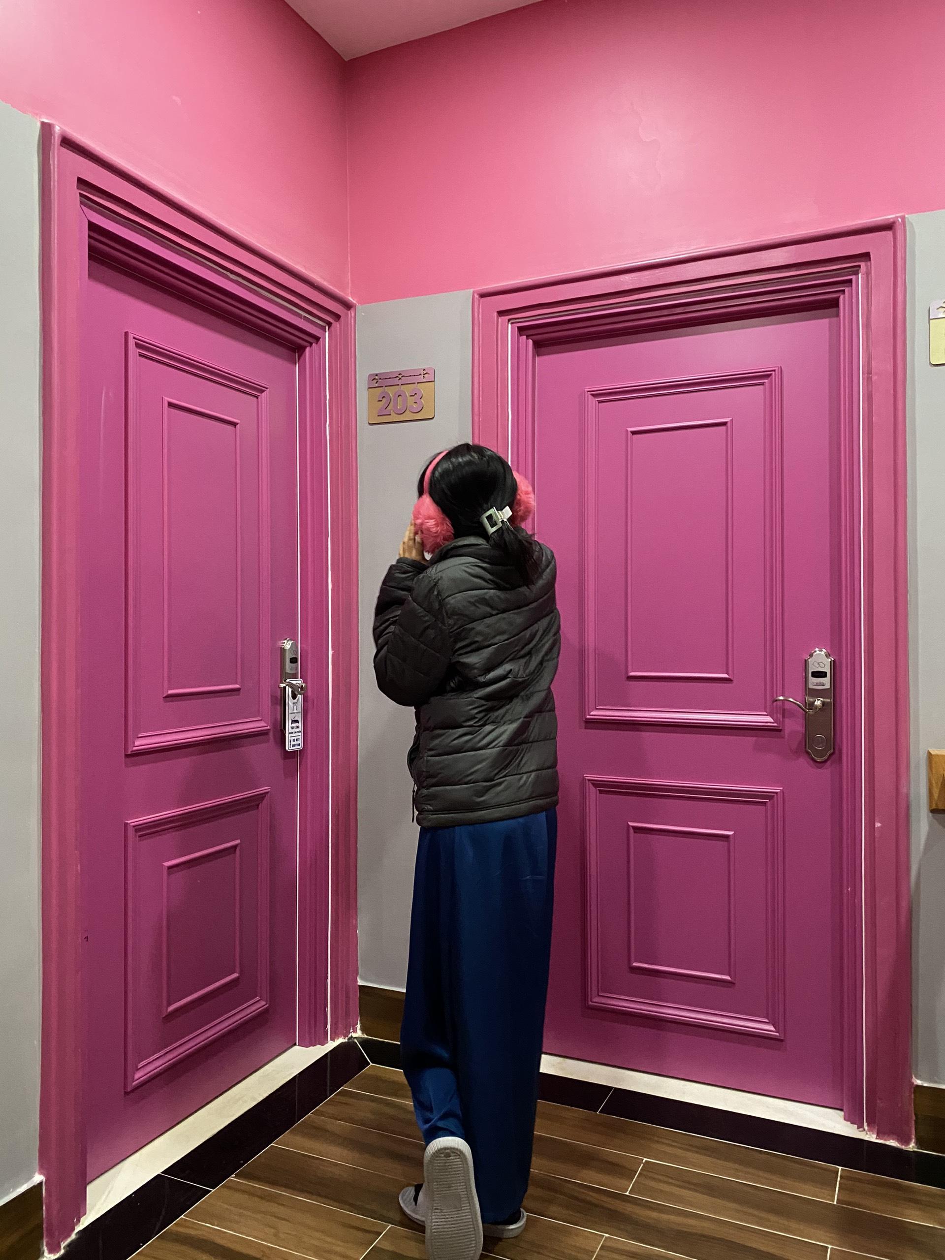 cửa gỗ composite tại Đà Lạt