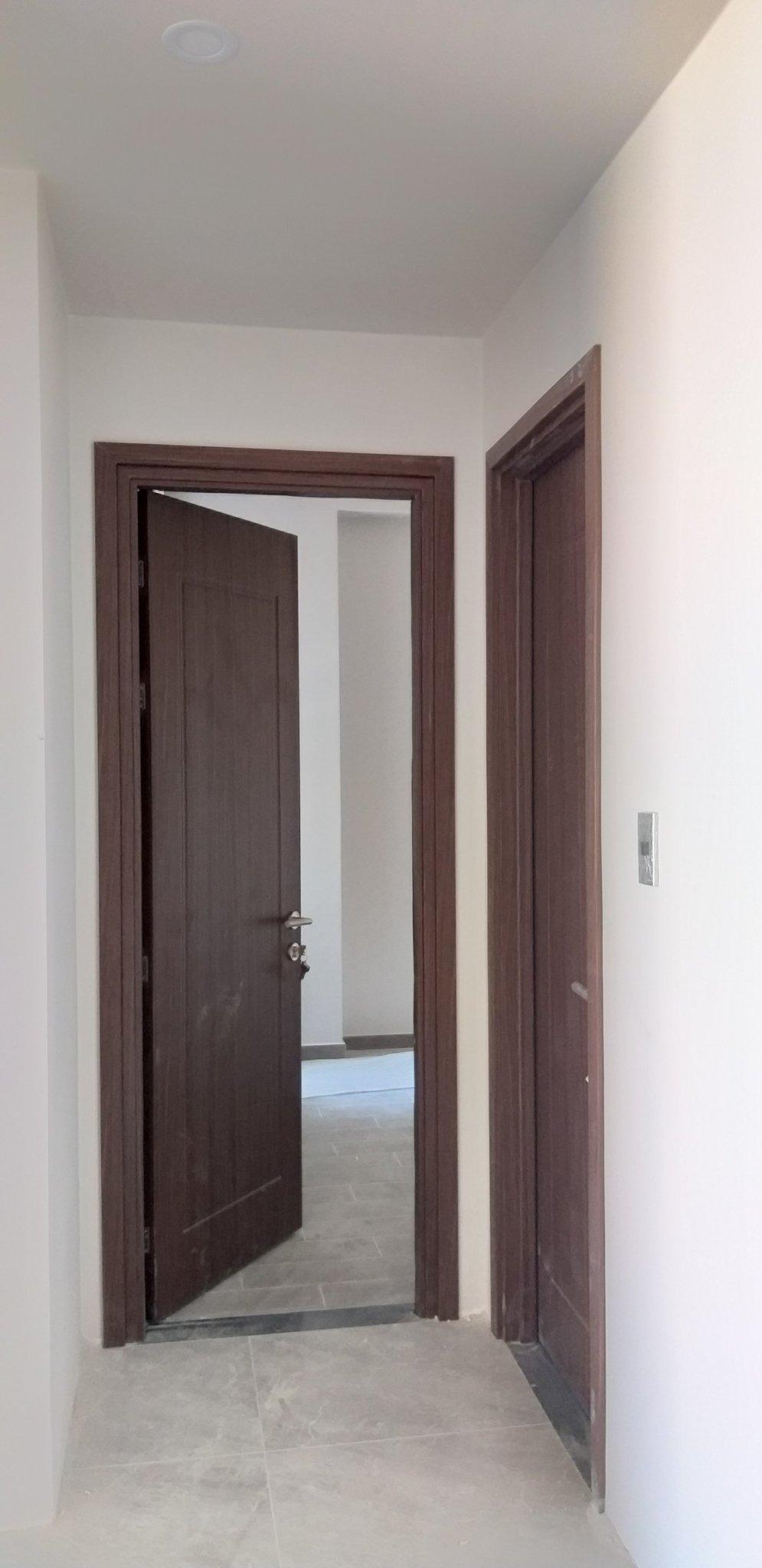 cửa nhựa giả gỗ nhà vệ sinh