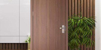 Cửa gỗ công nghiệp MDF Melamin An Cường