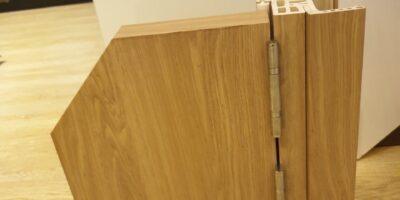Mẫu cắt gốc cửa nhựa Composite