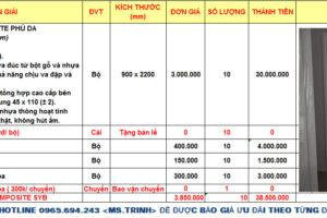 Giá cửa nhựa composite tại Biên Hòa- Đồng Nai