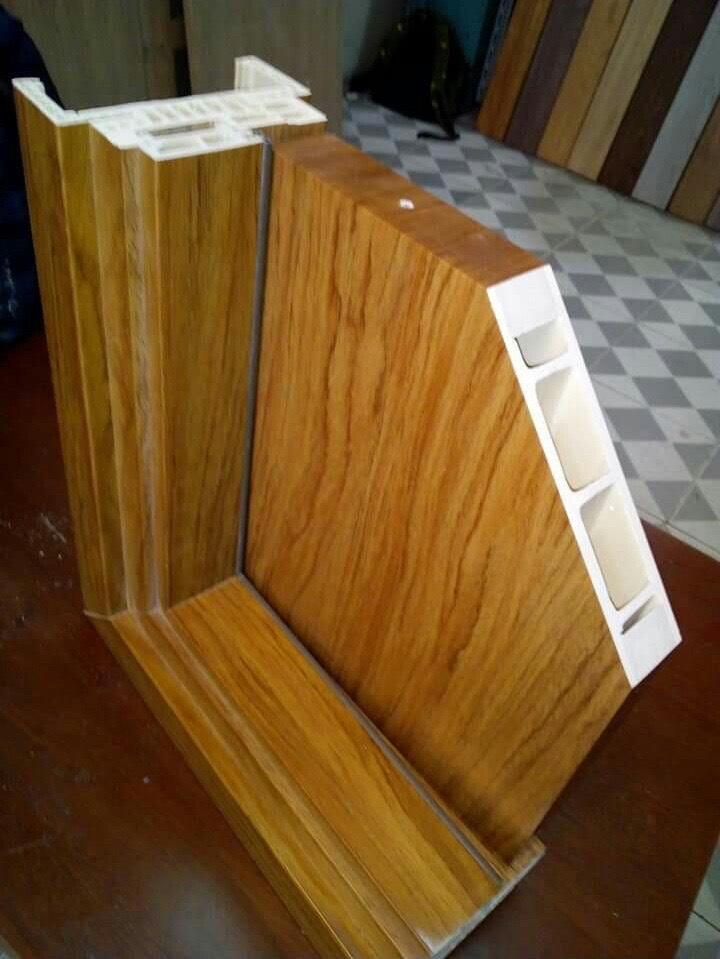 Cấu tạo cửa nhựa composite sơn LX