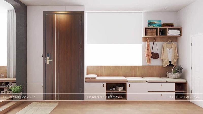 cửa gỗ mdf laminate an cường
