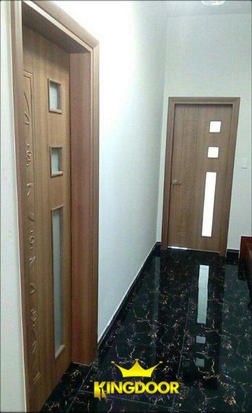 Mẫu cửa nhựa ABS Hàn Quốc giả vân gỗ