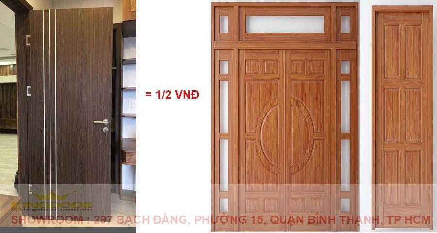 cửa gỗ công nghiệp tại Đồng nai