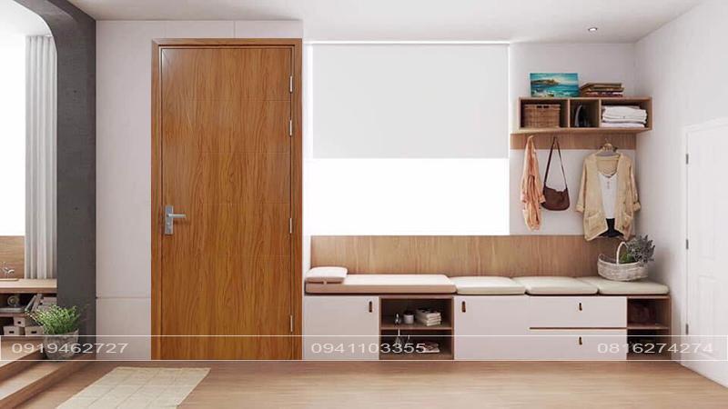 Mẫu cửa nhựa composite sơn LX cao cấp
