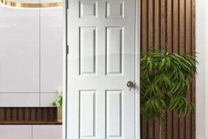 cửa gỗ HDF rẻ đẹp
