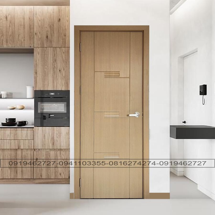 cửa nhựa giả gỗ dành cho chung cư