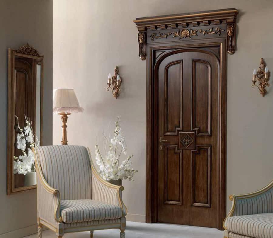 Mẫu cửa gỗ tự nhiên
